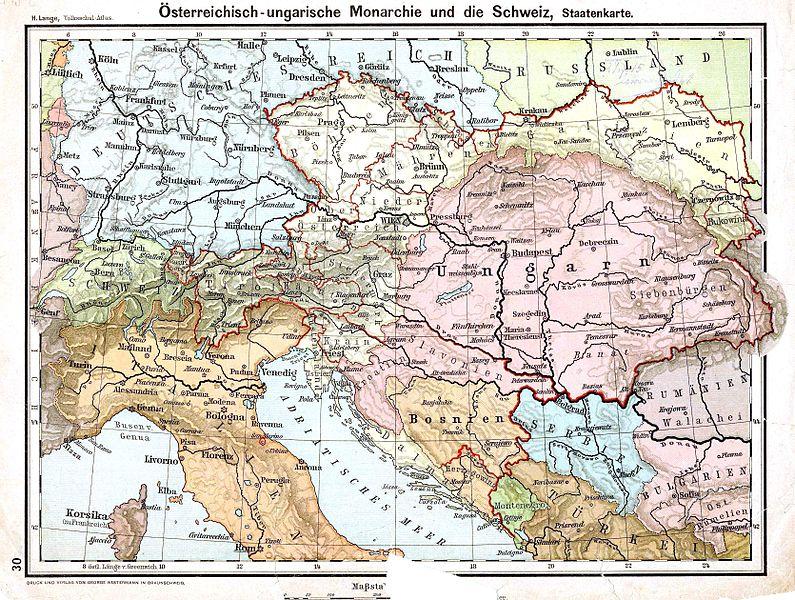 Austria-Hungary, 1899