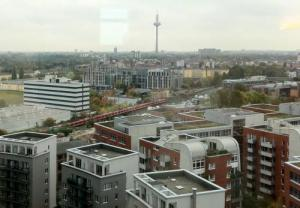 The view from Frankfurt